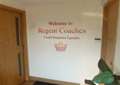 welcome area | Regent Coaches | Kent